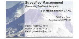 Stressfree Management Membership